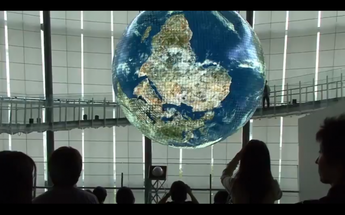 Random Cool Video: Astronaut's View of Earth in Real Time