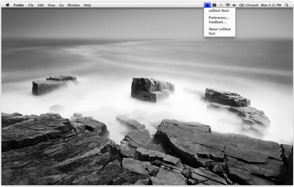 GearDiary Mac App Quick Look: unDock Brings Fast Drive unDocking for Mac