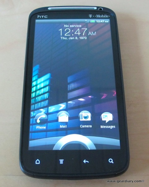 GearDiary T-Mobile HTC Sensation Android Phone Review
