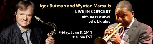 GearDiary Music Diary Notes:Watch Wynton Marsalis Live on UStream Today!