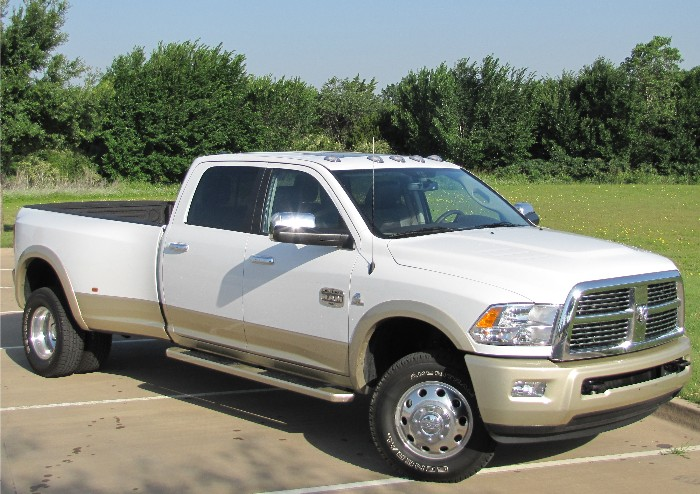 GearDiary 2011 Ram 3500 Laramie Longhorn: All Hat AND the Rodeo