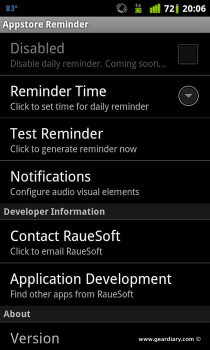 GearDiary Amazon Free App Reminder Does What It Says - Amazon Android App Store