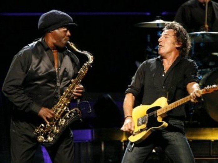GearDiary Music Diary Songs of Note: R.I.P. Clarence Clemons, aka 'The Big Man' With Bruce Springsteen