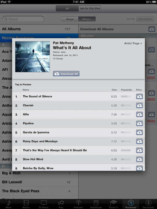 Music Diary Notes: I <3 iTunes in the Cloud