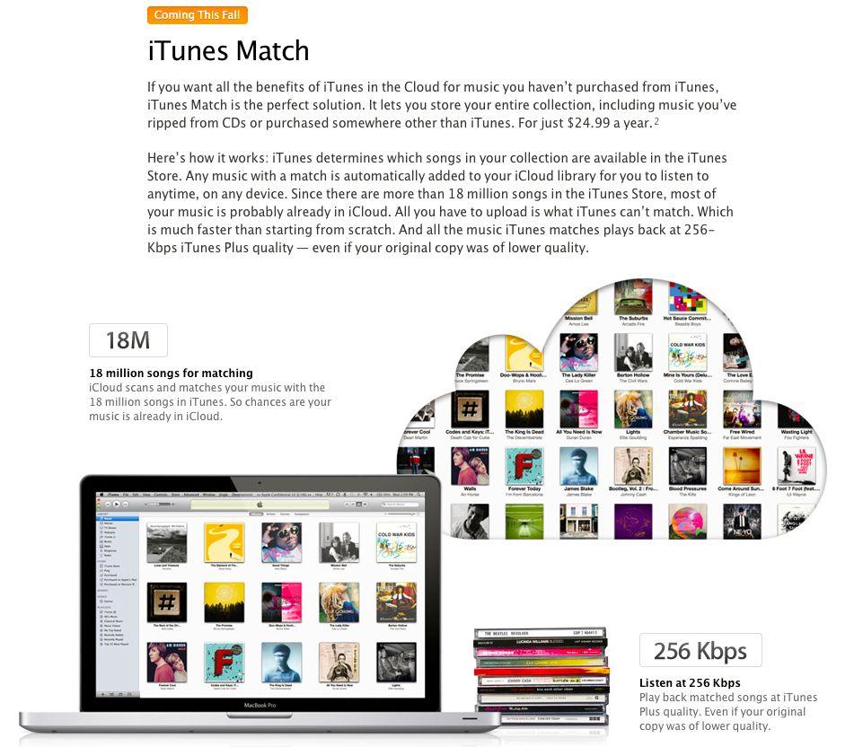 iTunes Match1