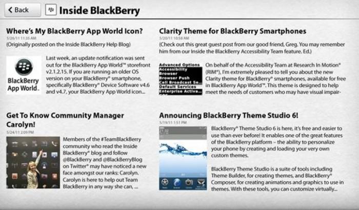 inside blackberry