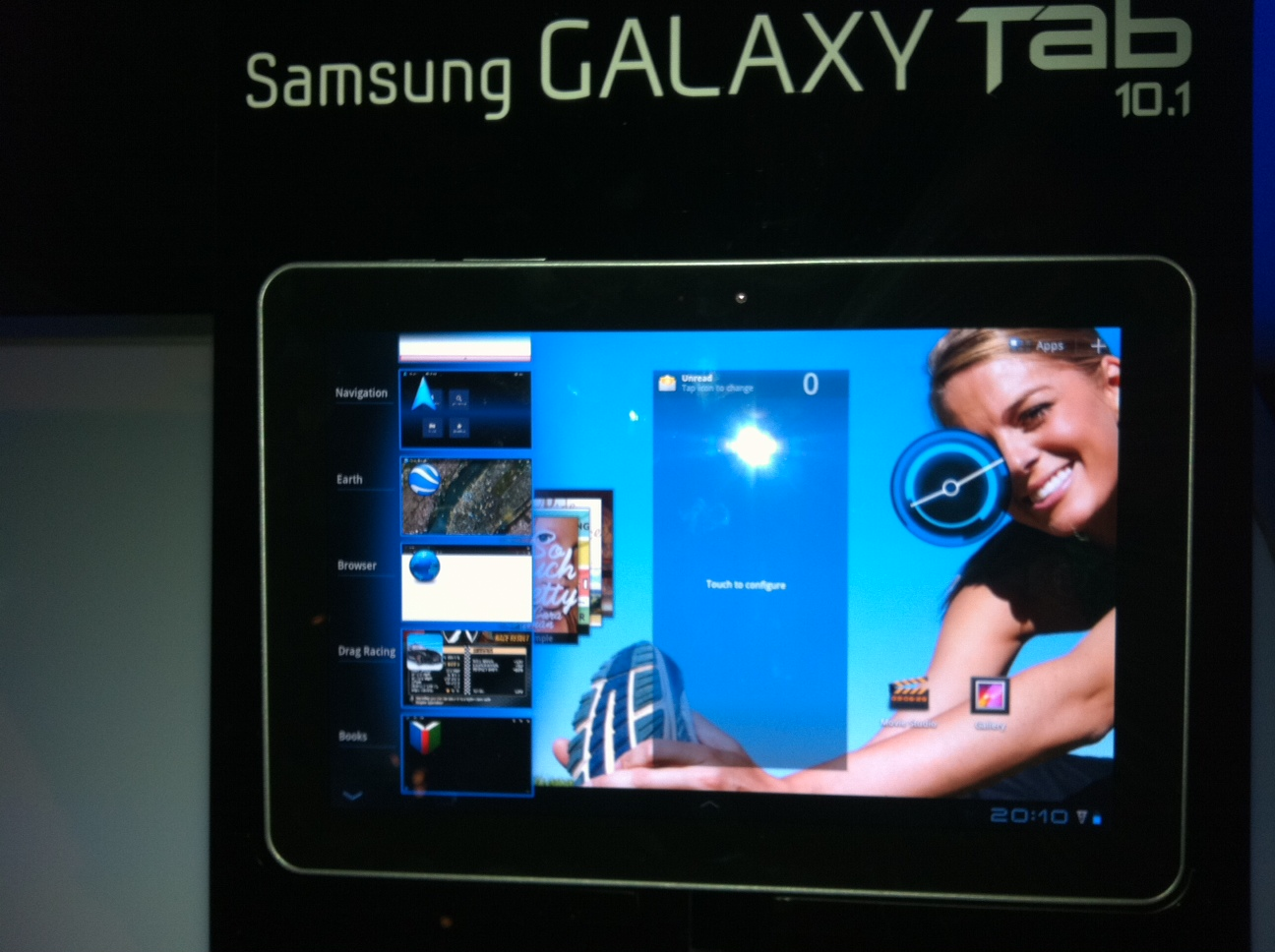 GearDiary First Look: Samsung Galaxy Tab 10.1