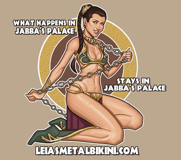 Random Cool Video: The More You Nerd - Slave Leia PSA
