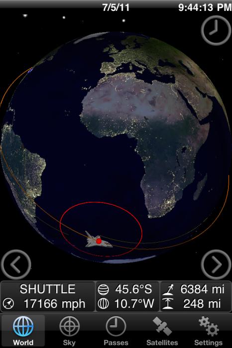 Random Cool App: Track the Final Shuttle Mission With GoAtlantis