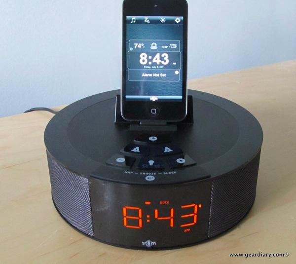 GearDiary Review: Stem TimeCommand Clock-Dock