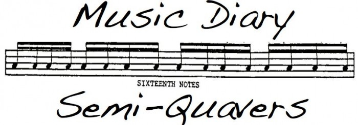 Music Diary Semi Quavers