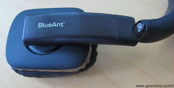 GearDiary Review: BlueAnt EMBRACE Wired On-Ear Headphones