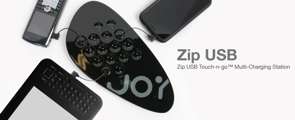 GearDiary Review: The Joy Factory Zip USB Touch-n-go Multi-Charging Station with ZipTail Receivers