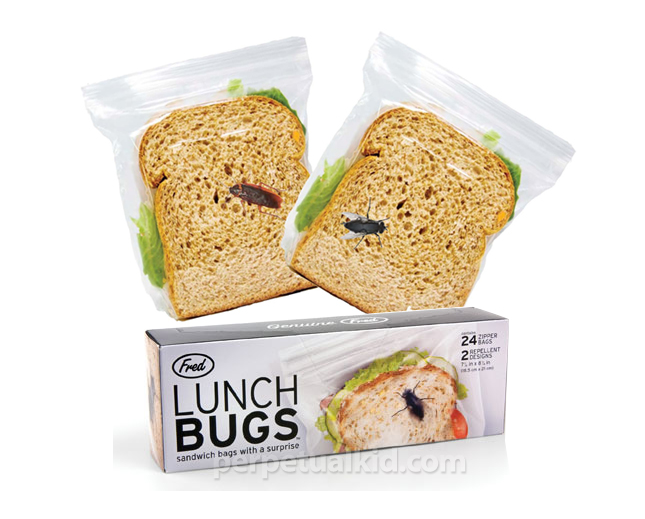 Keep Other Kid's Hands off Your Kid's Food with Lunch Bugs