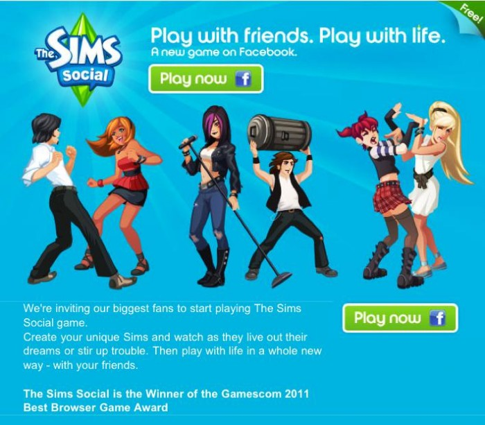 Yahoo Social Networking Games Facebook