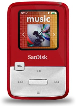 SanDisk Portable Media Players Memory Devices Audio Visual Gear