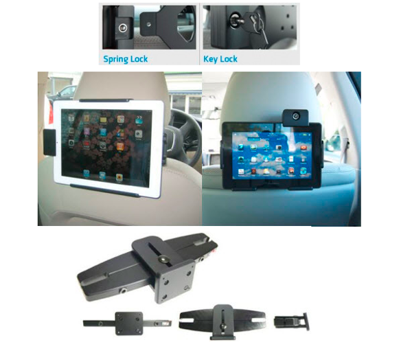 GearDiary Using a Tablet as In-Car Entertainment? Make Sure It Is Crash Tested with ProClip USA
