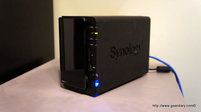 Storage Review: The Synology DS211+, A Pint Sized 2-Bay NAS with some Really Big Features