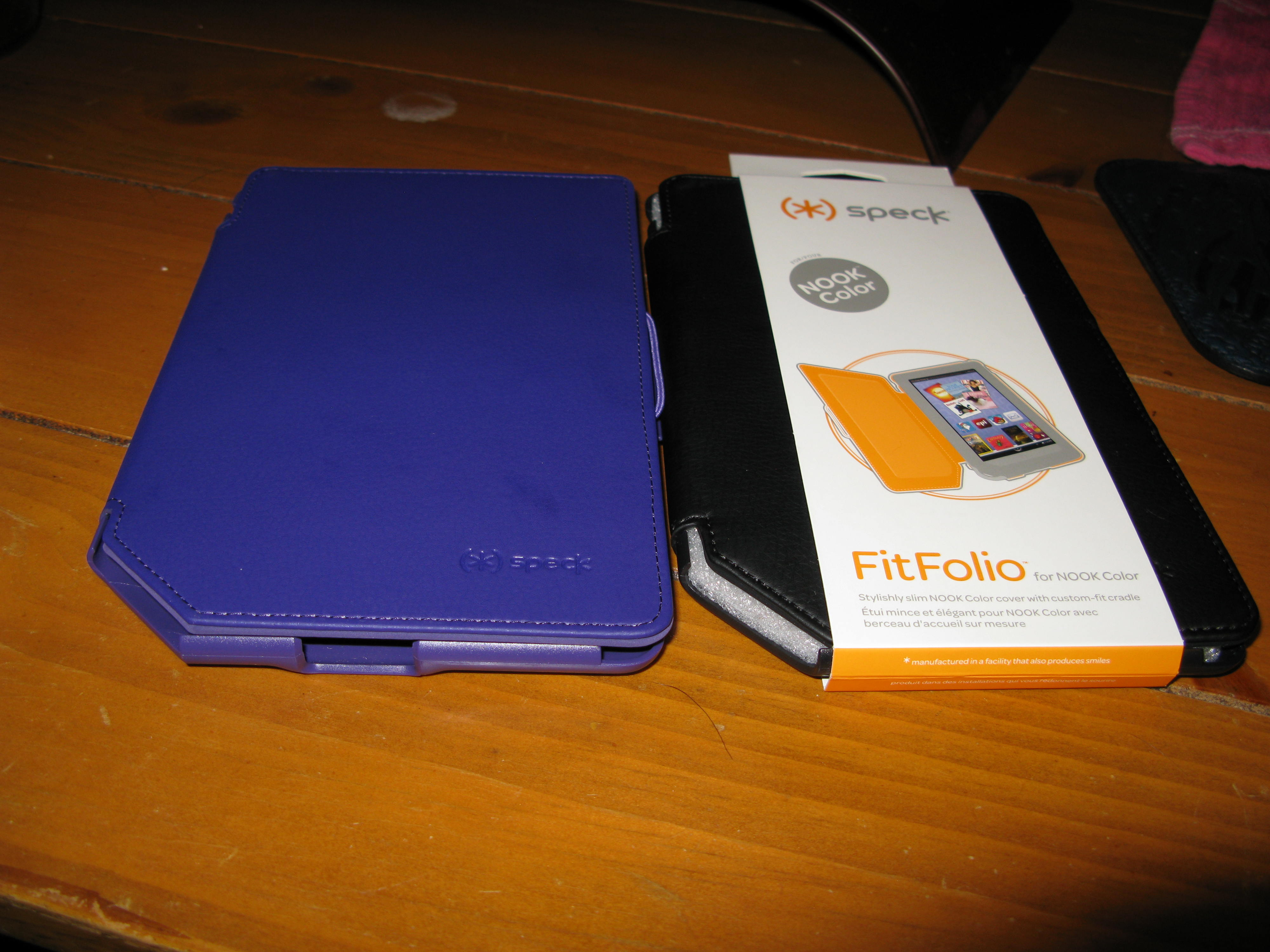 GearDiary Speck FitFolio for NOOKcolor Review