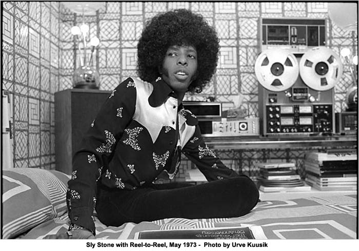 Music Diary Songs of Note: Sly Stone Now Living Out of a Van in L.A.