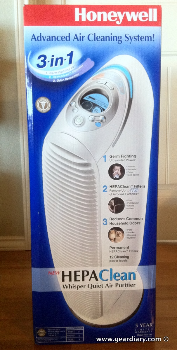 GearDiary Giving the Honeywell HEPAClean 3-in-1 Advanced Air Cleaning System a Try During This Allergy Season