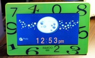 GearDiary ZAZOO KiDS Digital Photo Clock Review