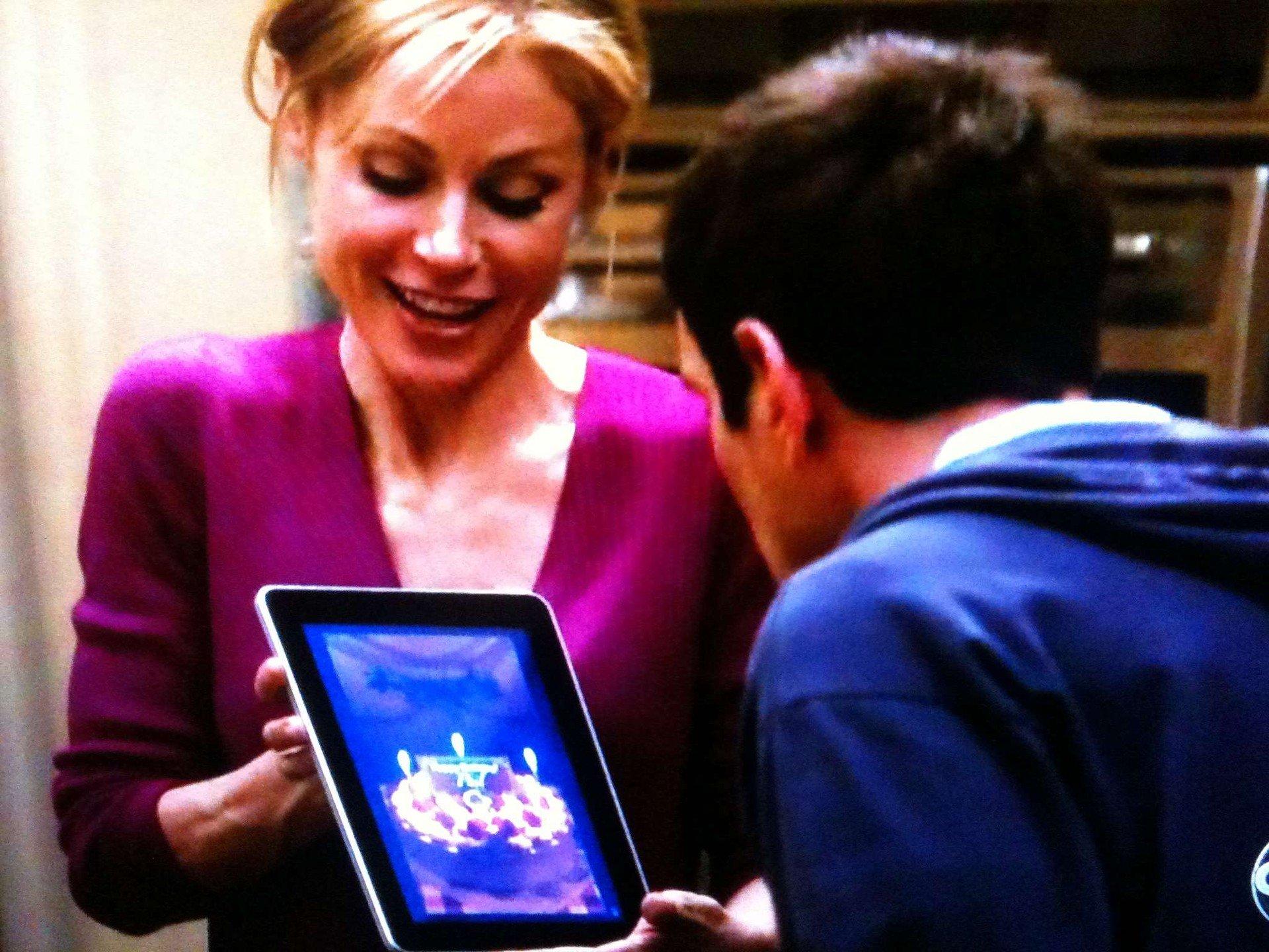 iPad Modern Family