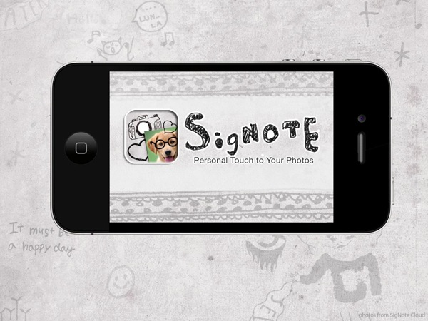 GearDiary SigNote Adds Interest and Personalization to Your Pics Review