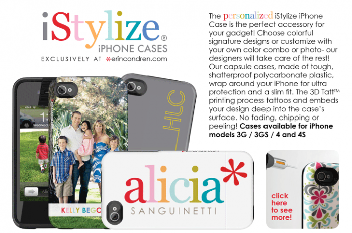 Personalized iPhone Cases from iStylize