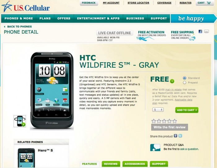 US Cellular Android