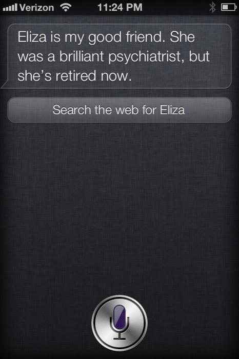 "Siri's Predecessor, and ""Good Friend"""
