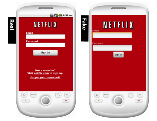 Watch out for Fake Netflix Apps