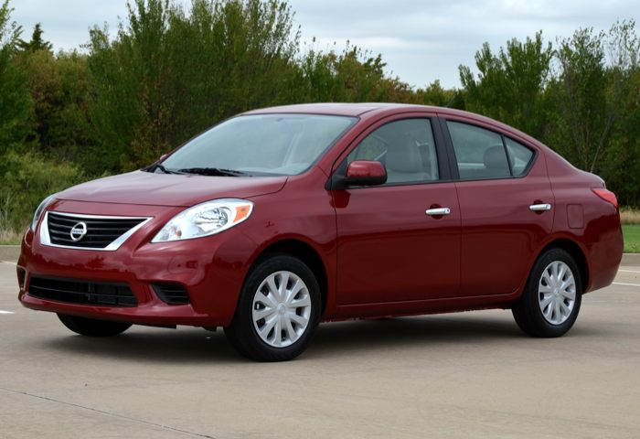 2012 Nissan Versa Sedan Cheapest Real Estate Around