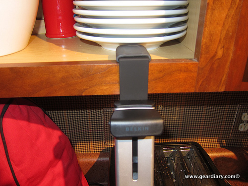 The Belkin iPad Kitchen Cabinet Mount Review