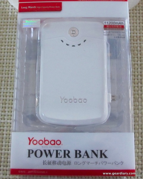 yoobao power bank 11 200 mah battery review. Black Bedroom Furniture Sets. Home Design Ideas