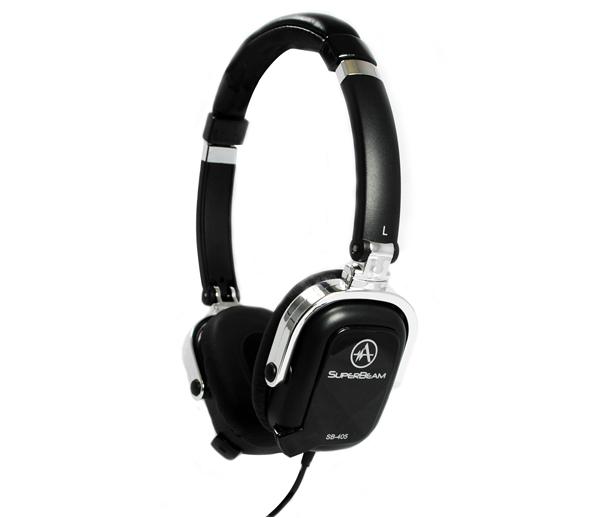 "GearDiary Andrea's SuperBeam Phones On-Ear Headphones Go ""Boom-less"""
