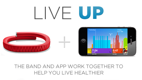 "GearDiary Jawbone Says, ""Time to Get UP!"" New UP Health Accessory Now Available for Pre-Order"