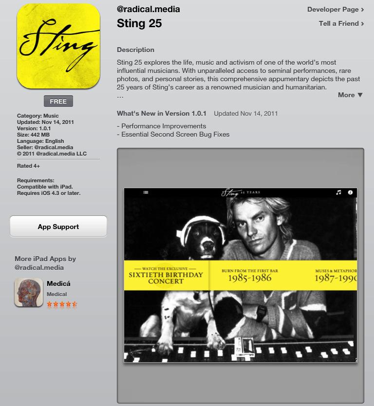 Music iPad Apple TV