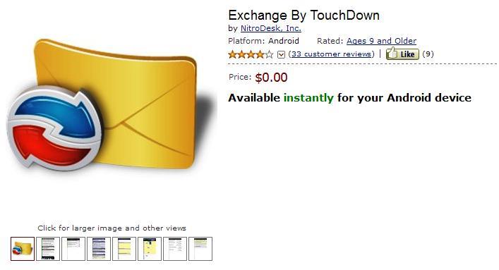 Touchdown Amazon