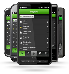 Music Diary Notes: Spotify Lands on Windows Phone 7!
