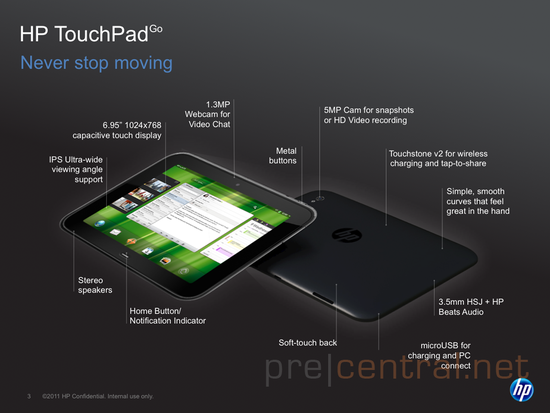 """GearDiary HP TouchPad Go: The 7"""" Tablet I Want ... But Will Never Have!"""