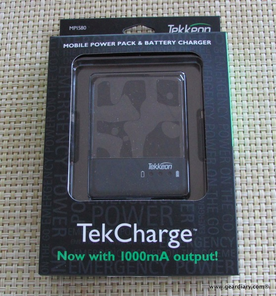 GearDiary Tekkeon TekCharge MP1580 review