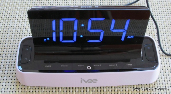 Voice Recognition Moshi Home Tech Clocks
