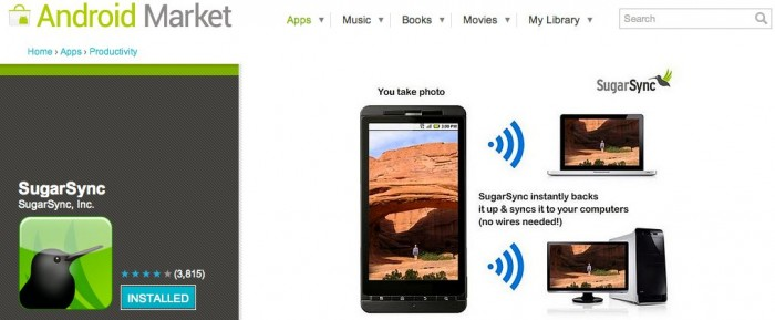 SugarSync Update Helps Add to Android App Market Confusion