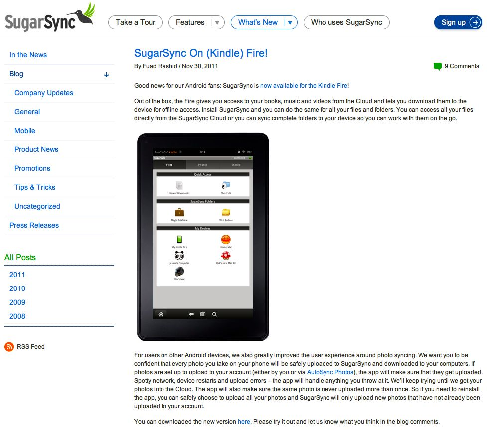 Kindle eReaders Cloud Computing