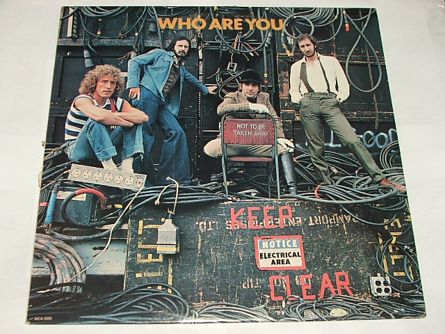 Vinyl Re Visions The Who Who Are You Rock 1978