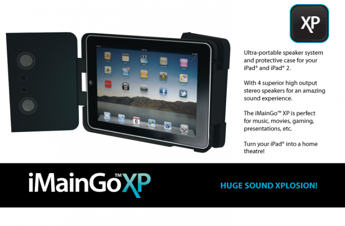 iMainGoXP iPad Speaker Case Review