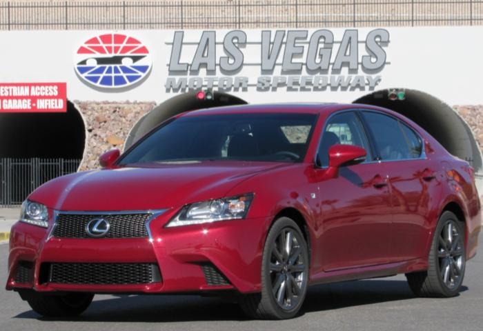 Good Day at the Track with 2013 Lexus GS Just Got Better