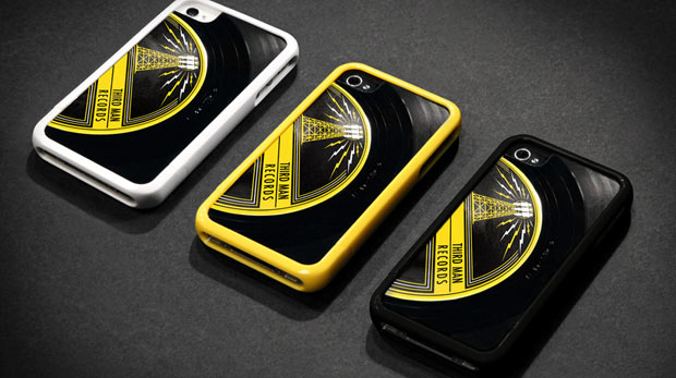 """Griffin and Third Man Records Put a Spin on Your iPhone 4S with a Case Custom Cut from a 7"""" Vinyl Record"""