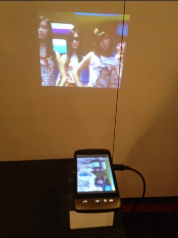 dlp pico engine powers a smartphone projector from the. Black Bedroom Furniture Sets. Home Design Ideas
